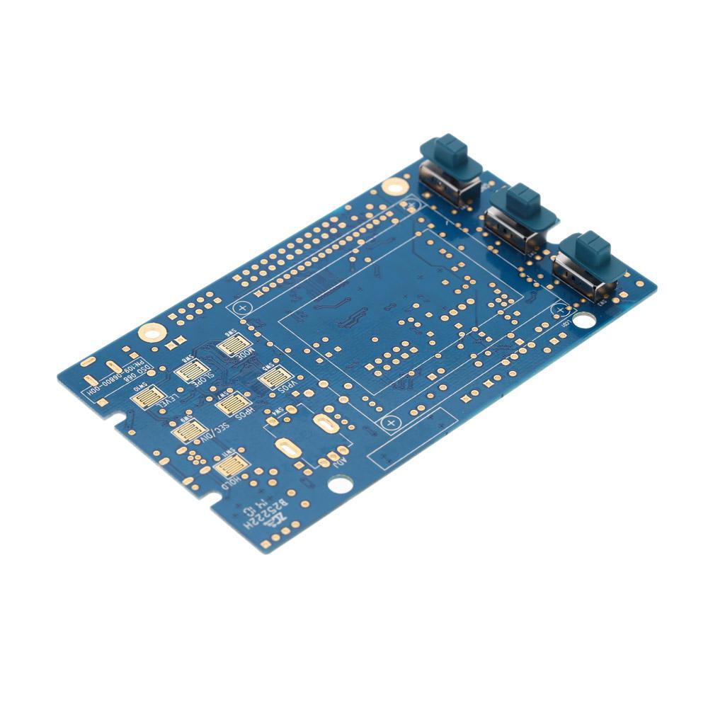 LCD تخزين رقمي / التردد متر DIY كيت مع واجهة BNC التحقيق USB DSO 20MSa / ثانية 3MHz Oscilloscopio