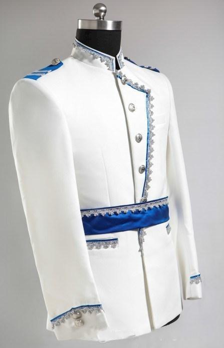 2015 - Nuevo diseño Novio Tuxedos Traje de boda para hombres Diseñadores Tailored Prom Suit Novio Blazer Novio chaqueta + pantalones 363