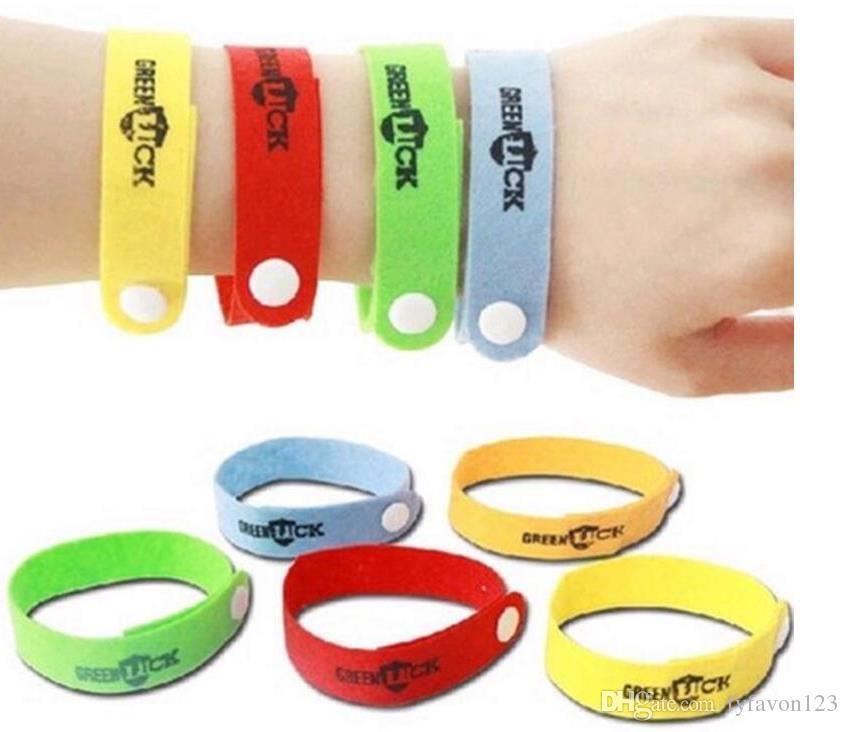 2017 Randonnée Camping Anti-moustique Répulsif Bracelet Bracelet Anti-Moustique Répulsif Bracelet Bracelet A99
