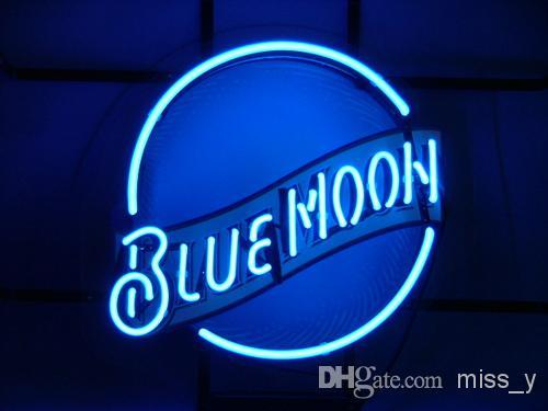 2019 BLUE MOON BEER BAR PUB NEON LIGHT SIGN From Q_maggie