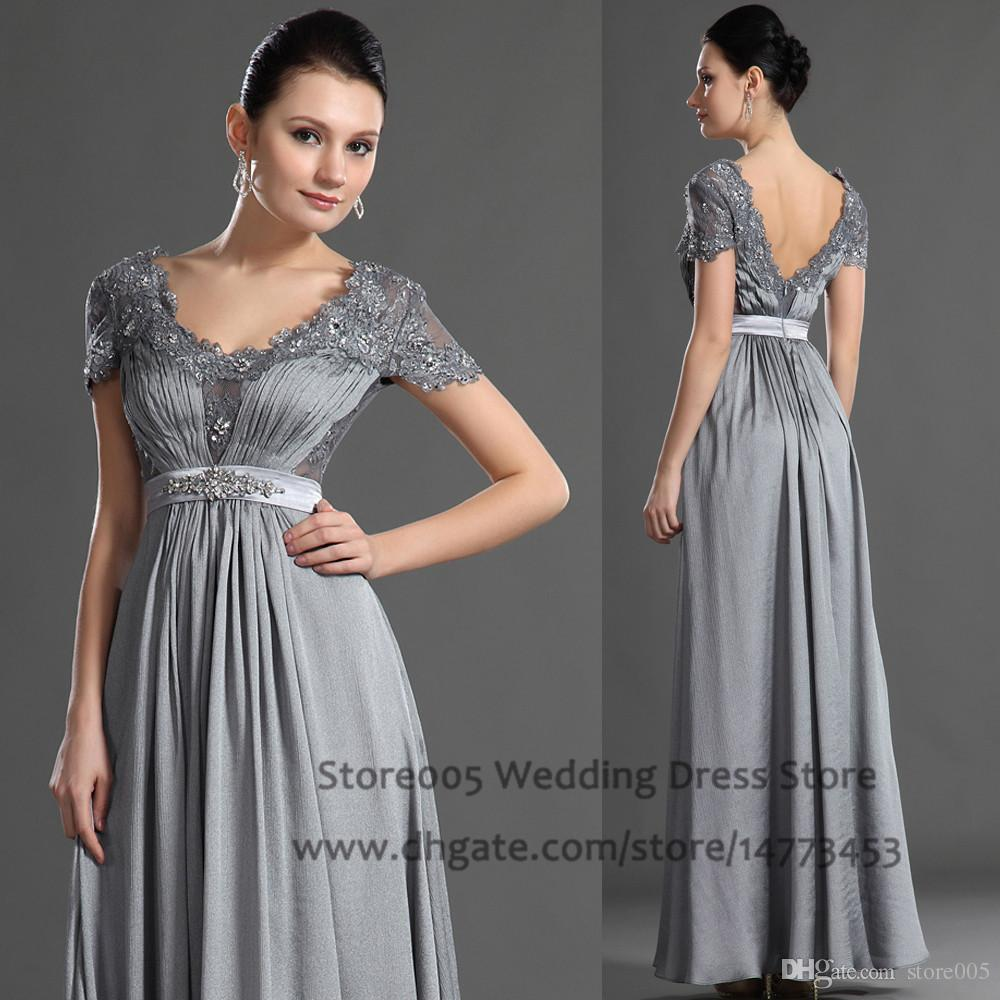 Elegant Mother of the Bride Beaded Dress