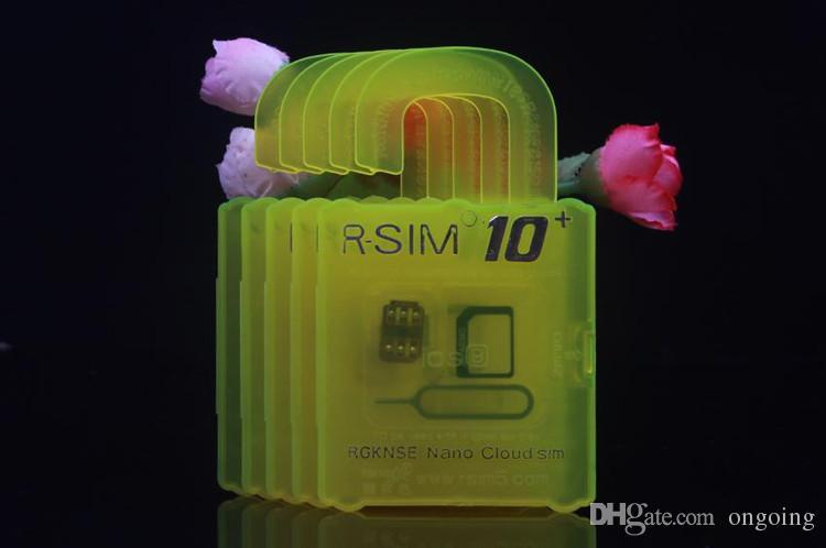 For iphone 6s plus 6 5s 5 4s IOS9.1 9.0 IOS7.X-9.X Unlock Card R-SIM 10+ RSIM 10+ Rsim10+ CDMA GSM 3G 4G SB AU SPRINT add Rpatch carrier