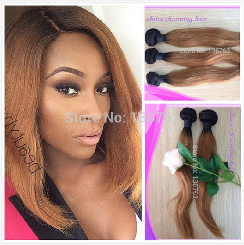 Cheap new style 1b 27 honey blonde dark root straight ombre 2 cheap new style 1b 27 honey blonde dark root straight ombre 2 two tone colored brazilian human hair weave weft 3 bundles best hair for sew in weave best pmusecretfo Gallery