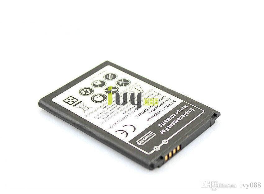 Para lg 4 g mr770 baterias de telefone celular lg770 l770 p770 l770 p770 l710 p700 l780 p700 optimus l7 bateria bl-44jh 1900 mAh 100 pçs / lote