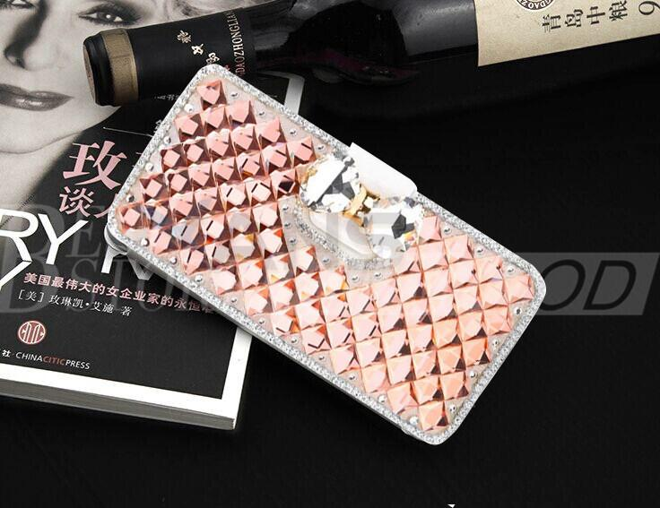 Für iphone 6 plus 5 samsung galaxy s6 hinweis 5 luxus mode diamant handy case abdeckung mit bling perle kreditkarteninhaber