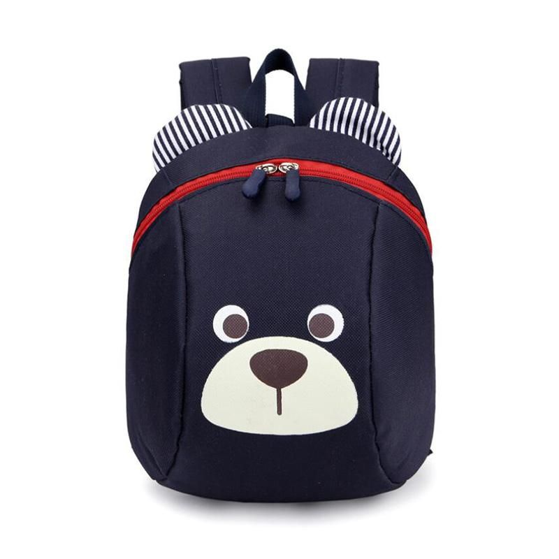 e63268a594 New Cute Little Bear Children  S Backpack Lovely Cartoon Animal School Bags  For Boys Girls Kindergarten Bag Baby Bags Backpacker Rucksack School Bags  For ...