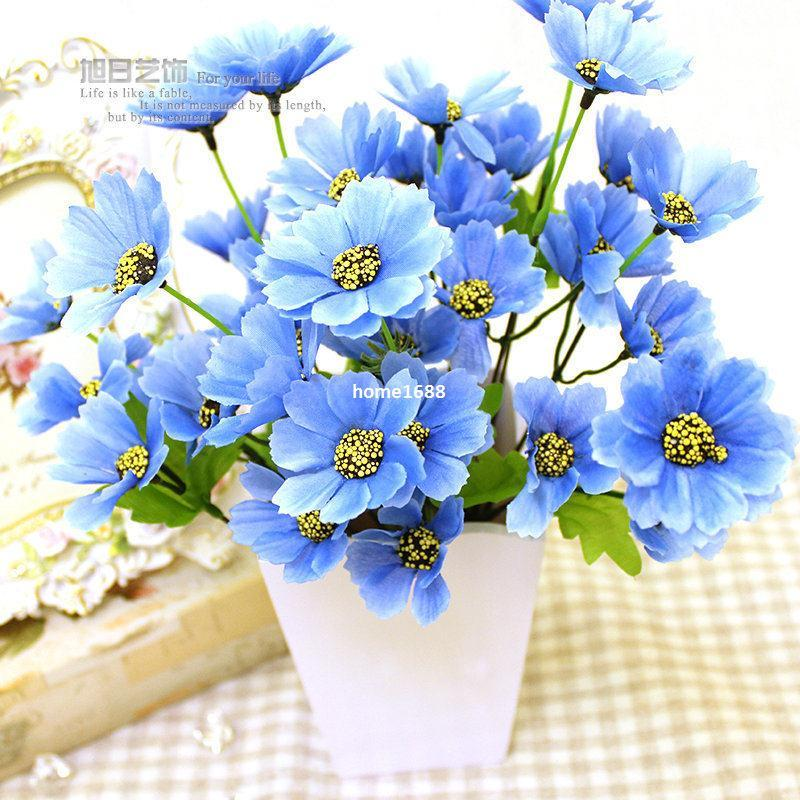 Silk Flowers Artificial Flowers Real Touch Flowers Party Decoration ...