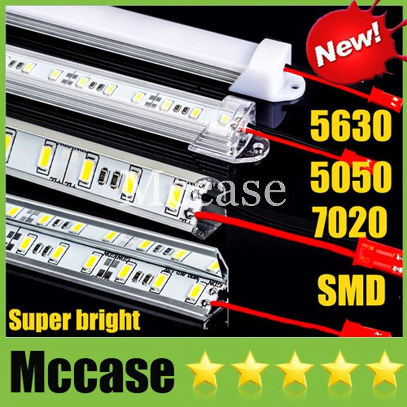 Hard Rigid LED Bar Light SMD 5630 7020 5050 DC12V 50cm 36led 0.5m ...
