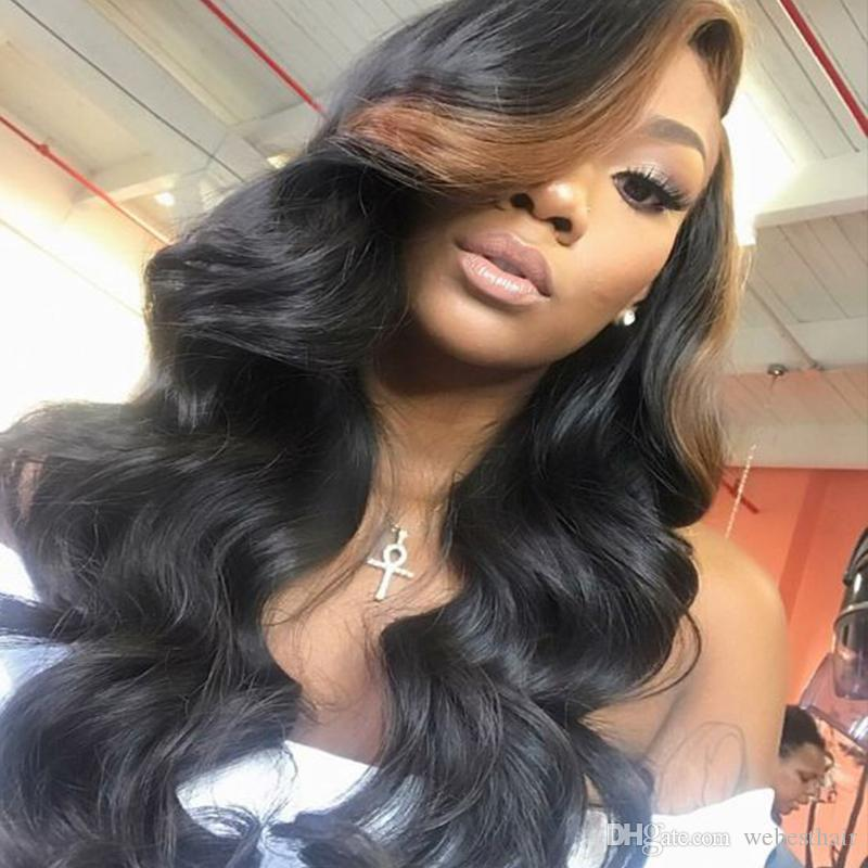 Wet And Wavy Full Lace Human Hair Wigs For Black Women Virgin Peruvian Water Wave Lace Front Wigs Natural Hairline