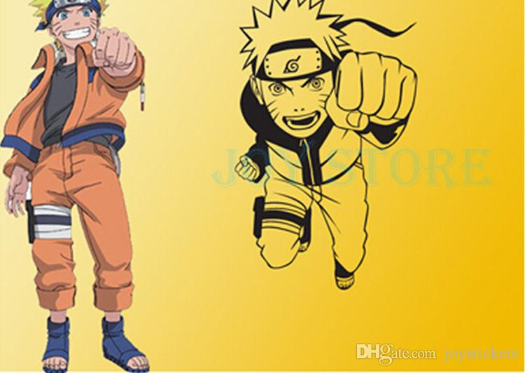 Anime Cartoon Naruto Run Attack Cool Propile Wall Sticker Decal Home Decor For Anime Fans