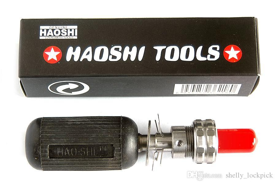 HAOSHI Advanced Stainless Steel Tubular Lock Pick Tool (7 Pin/8 Pin/10 Pin) Professional Premium Locksmith Tools