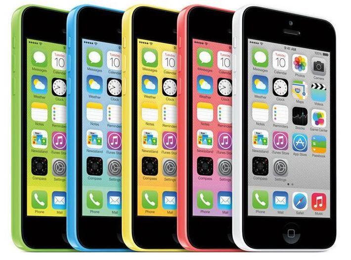 2016 Venta caliente Smartphone 100% original desbloqueado Apple Iphone 5c con 4.0