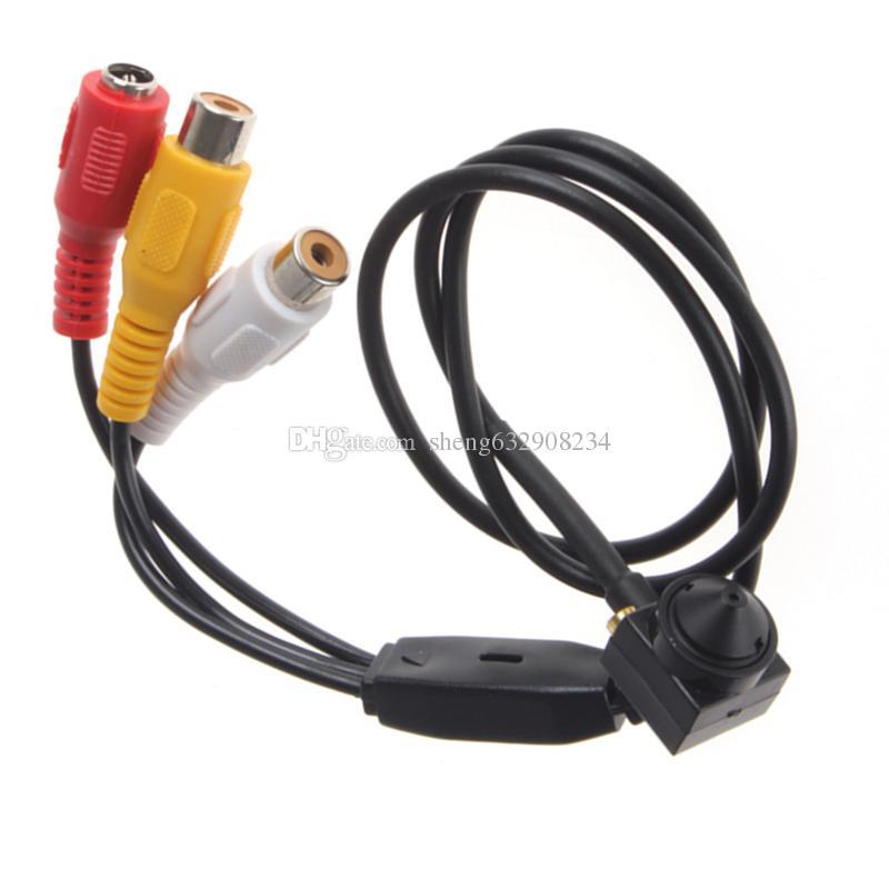 600TVL 5MP Küçük Mini Gece Görüş Ev Güvenlik Video Gözetim için 1/3 HD Pinhole Kamera