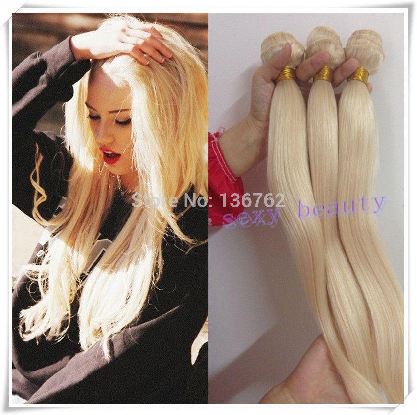 Top Quality Malaysian Blonde Hair Bundles 613 Virgin Blonde Straight
