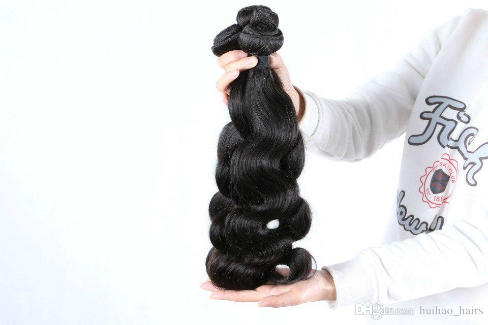 Cheap Brazilian India Unprocessed Virgin Human Body Wave Natural Color Hair Weave Bundles Products with Big Sale