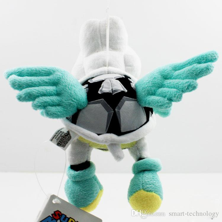Kostenloser Versand 2014 Netter Super Mario Bros. 18cm Plüsch Fliegen Winged Dry Bones Stofftier Stofftier Einzelhandel