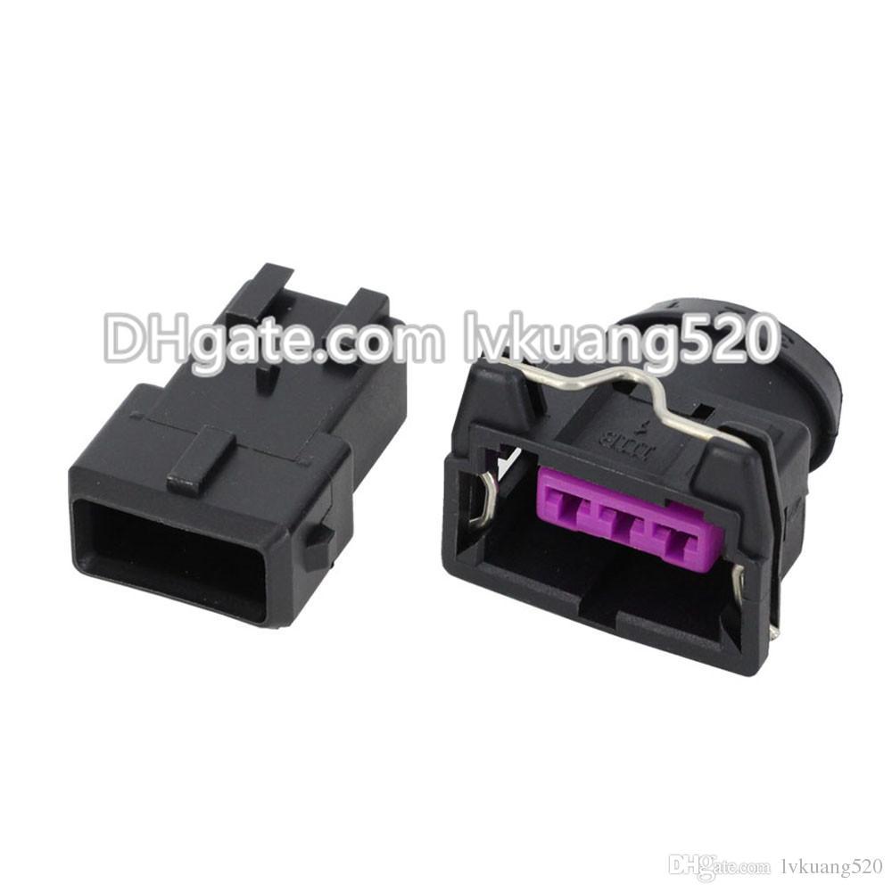 5 juegos de 3 pines hembra y macho conector de cable eléctrico para EV1 conectores automotrices DJ7031-3.5-11 / 21