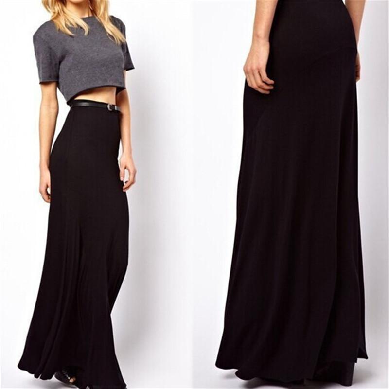 2019 6XL 7XL Plus Size Long Maxi Skirt 2015 Slim High Waist Bodycon Pencil  Autumn Winter Women Slit Saias Femininas Skirts From Kungfu999 94bb96c25ee4