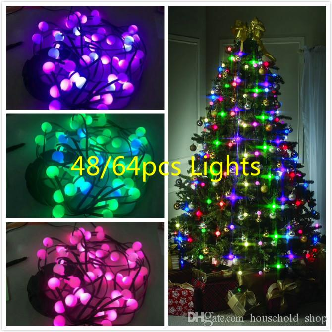 christmas tree decorative lamp tree string lights changing color usukeuau festive party holiday lighting 2018 top christmas decorations traditional - Best Christmas Decorations Uk