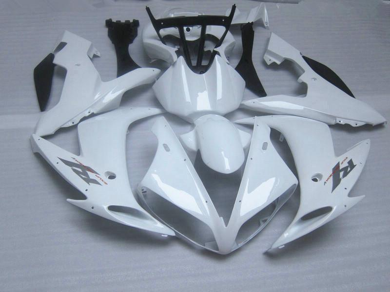 Fairing kit for Yamaha YZF R1 2004 2005 2006 all white Injection mold fairing kit parts 04 05 06 r1 body kits R14D