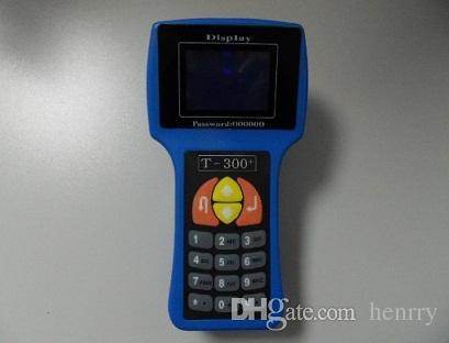 T300キー・プログラマーv17.8最新バージョンT 300 T 300 T 3 3件のトランスポンダーキー自動診断ツールブルーブラックカラースペイン語英語言語
