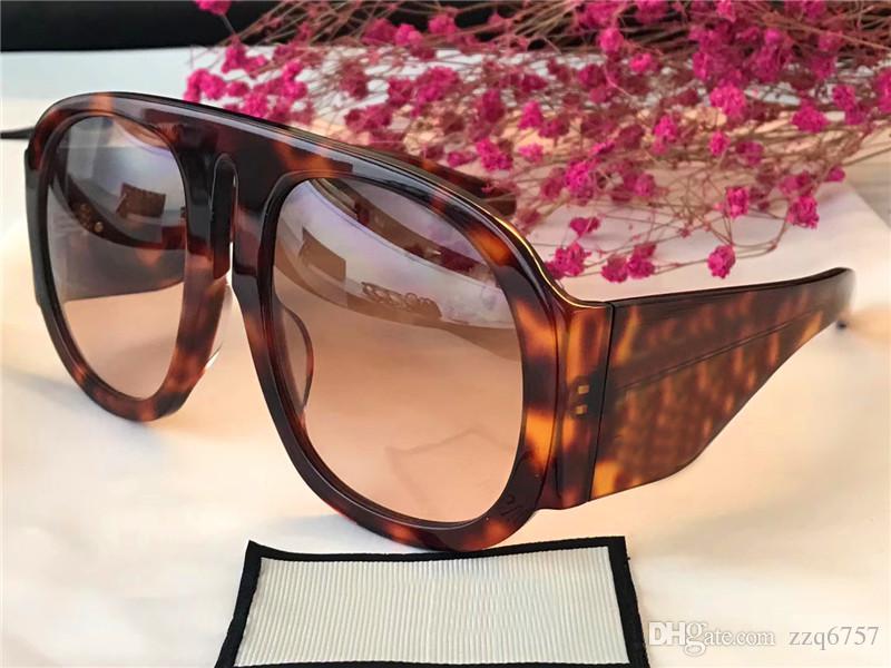 The latest style fashion designer eyewear oversize frame popular avant-garde style top quality optical glasses and sunglasses series 0152