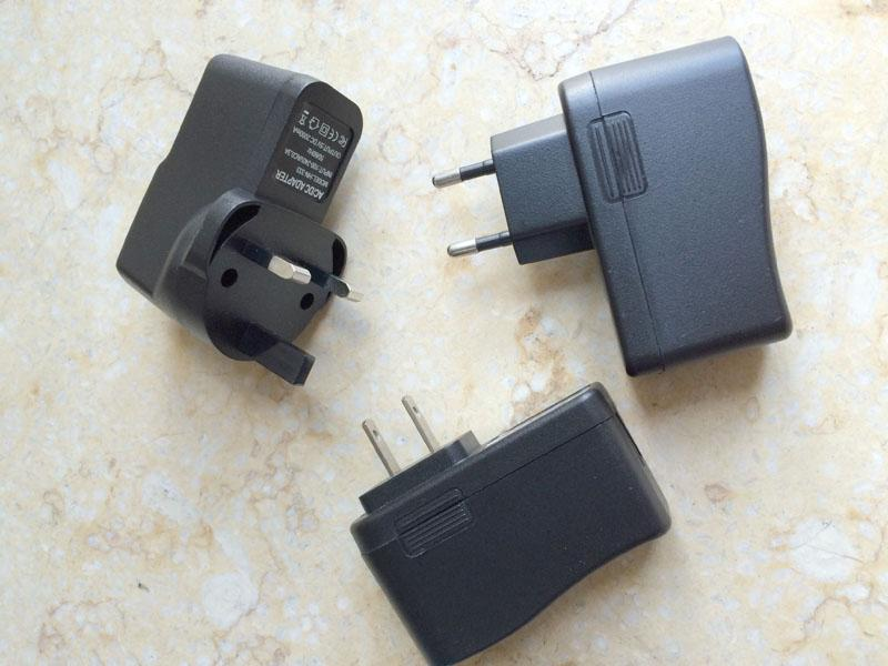 DHL 50 adet 5 V 2a ABD / İNGILTERE / AB tak AC Güç adaptörü USB Şarj Tablet PC CCTV Kamera için C-PD