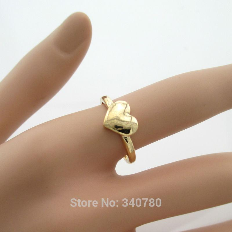 Knuckle Ring Gold Plated Ring Simple Design Love Gift For Her ...