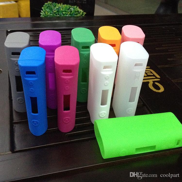 Nouveau Silicone Case Silicon Cases Sac En Caoutchouc Coloré Sleeve Housse de protection gel de silice Peau Pour kanger kangertech subox nano 50watt box mod