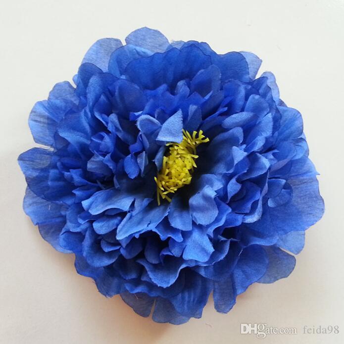 Yapay çiçekler şakayık çiçekleri ipek çiçek dans sahne 20 CM büyük şakayık Ücretsiz kargo