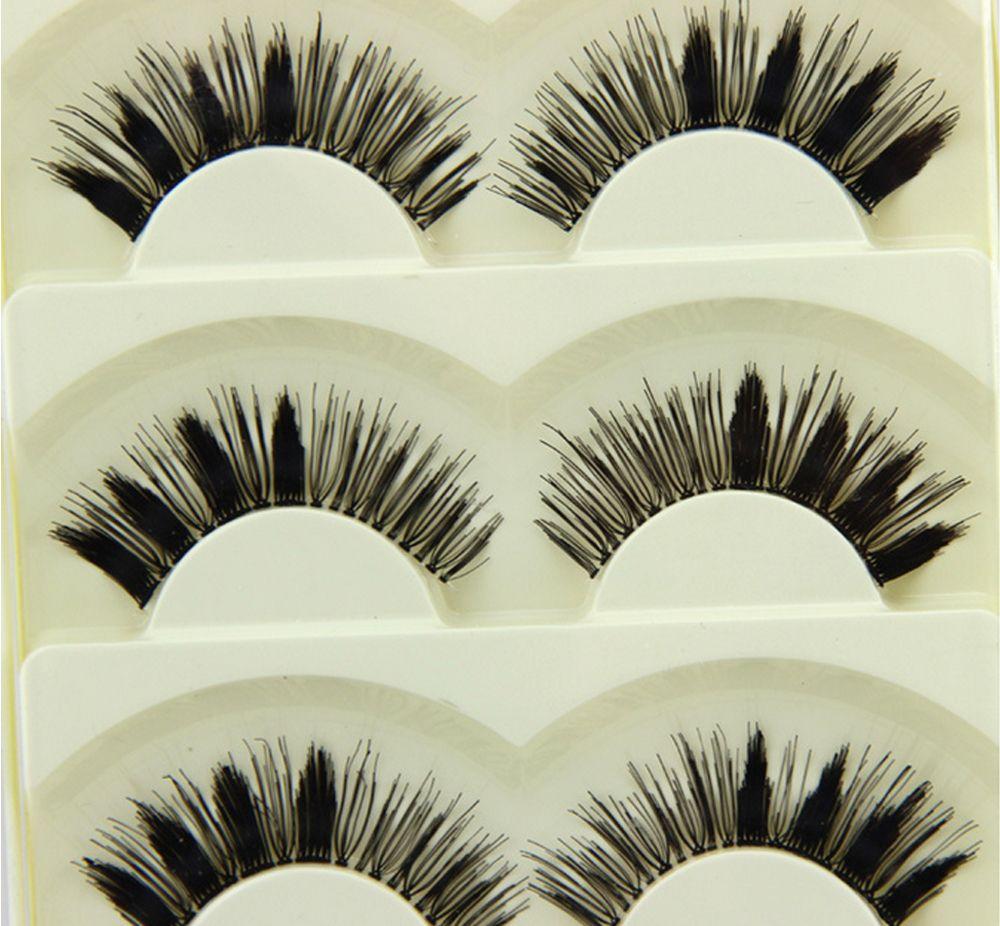 faux mink eyelashes Korea pbt fiber lashes protein human hair eyelashes  free shipping 5-13