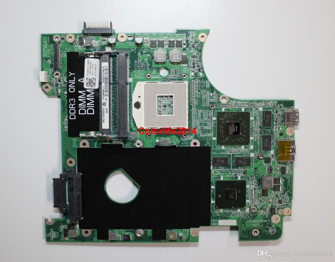 for Dell 14R N4010 CN-0951K7 951K7 DAUM8CMB8C0 REV:C HD5650 HM57 Laptop Motherboard Mainboard Working perfect