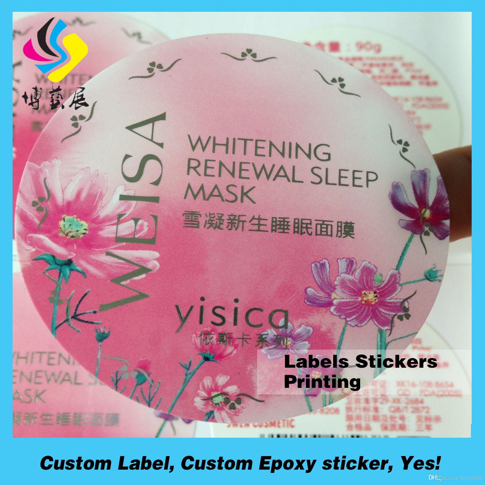Full Color Christmas Sticker Roll Printing Adhesive Christmas ...