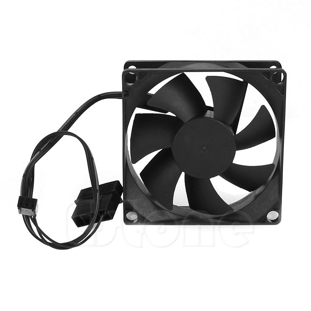 Wholesale- 1PC Brushless DC Cooling Cooler Fan 12V 7 Blades 80x80x25mm Hydro-bearing
