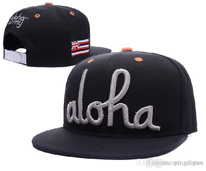 Hot Aloha Snapback Hat Army Snapbacks Hip Hop Hats Adjustable Sport ... 64c314e29a2