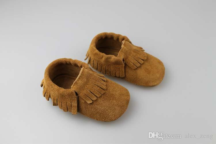 Baby moccasins soft shoes 2015 new Genuine Leather tassels moccasins soft leather Baby First Walker Shoes Children Toddle Shoes