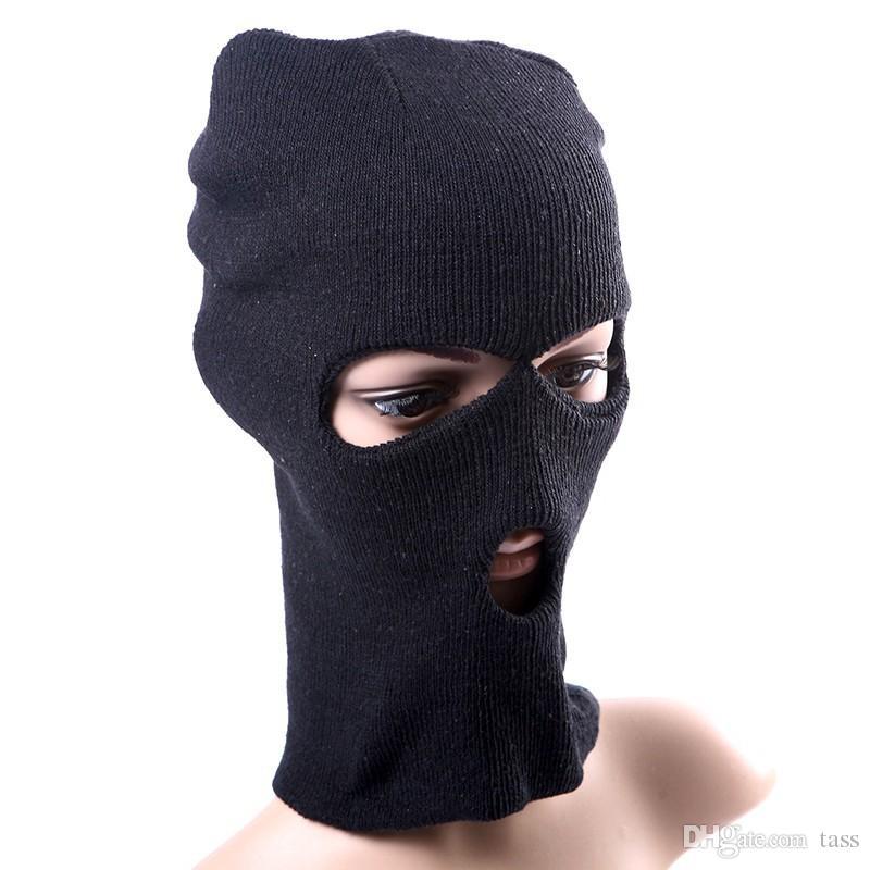 Trendy Unisex Women Men Fashion Winter Warm Full Face Cover Ski Mask Beanie Hat Cap