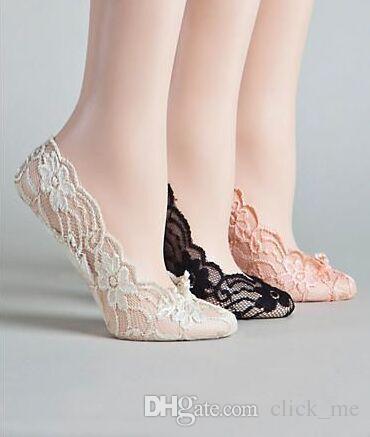 Zapatos de boda de encaje baratos calcetines elásticos Calcetines nupciales Zapatos de baile por encargo para la actividad de la boda Calcetines zapatos nupciales Envío gratis
