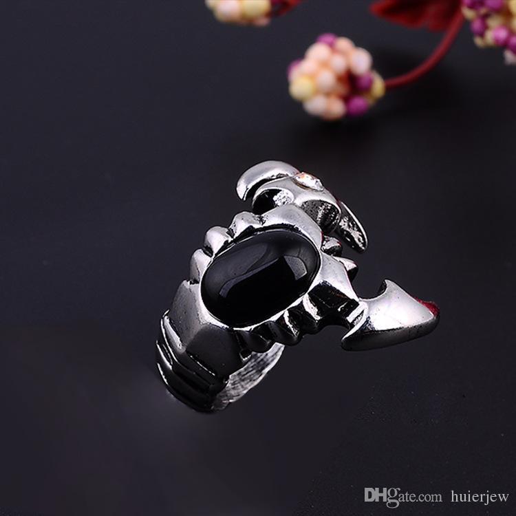 Anéis De Aço Inoxidável bonito Marca De Prata Demônio Olho Dos Homens Do Vintage Anel Do Punk China Atacado Em Aço Inoxidável Jóias Anéis Dos Homens Steampunk