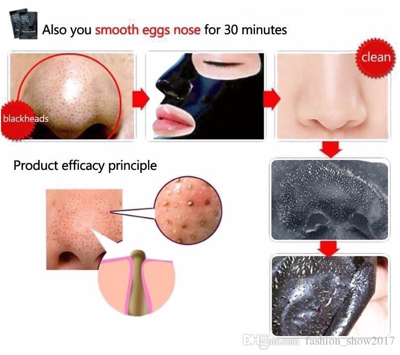 Pilaten Nose Facial Blackhead Remover Mask Minerals Pore Cleanser Black Head Pore Strip for Nose Close Pore