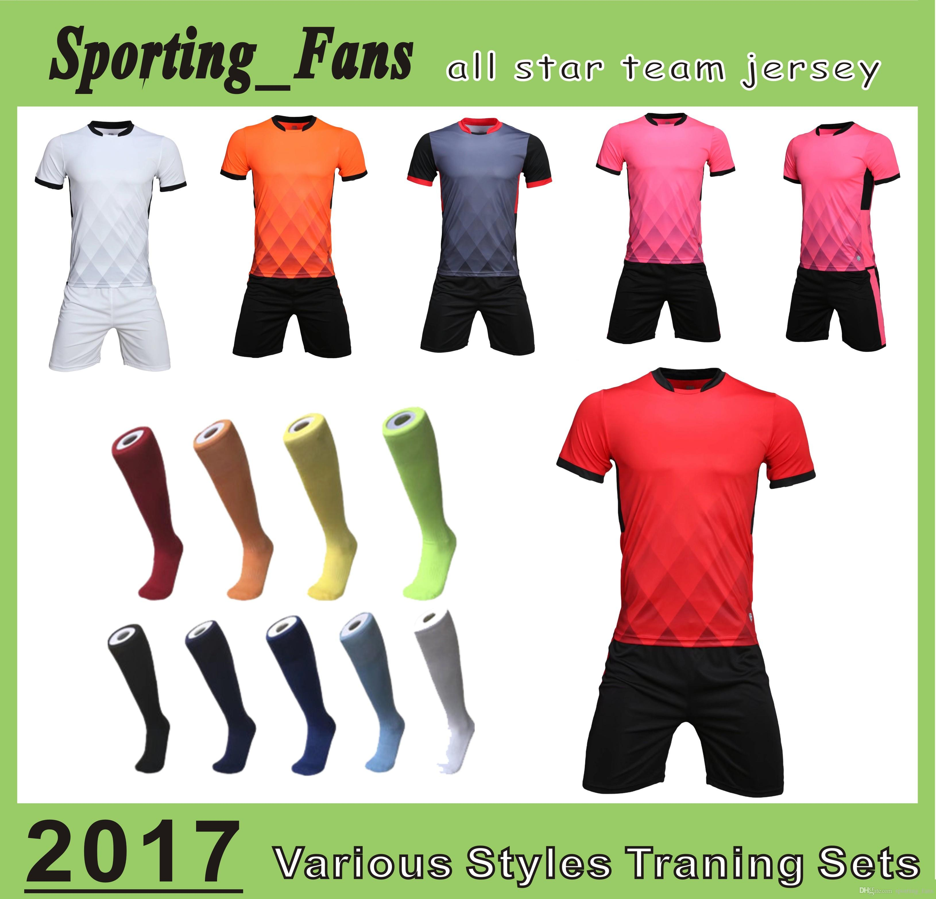 save off 13609 7a802 B807 1606 Top quality soccer training jerseys,football sets,soccer  uniforms! DIY your team mark,soccer wear, cuztomzied any team design