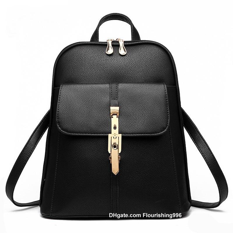 58d9c7670afbd Mode Frauen Rucksack Tasche Schultasche Handtaschen Taschen Schulter  Handtasche Top Qualität Tropfenverschiffen Von Flourishing996