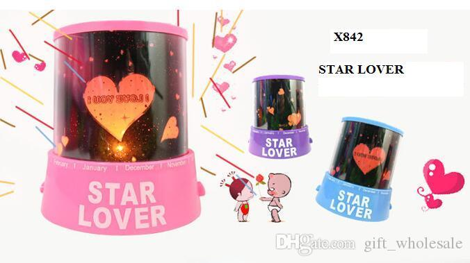 New style Colorful cosmos stars laser-LED projector Star Projector Lamp LED Night light lantern