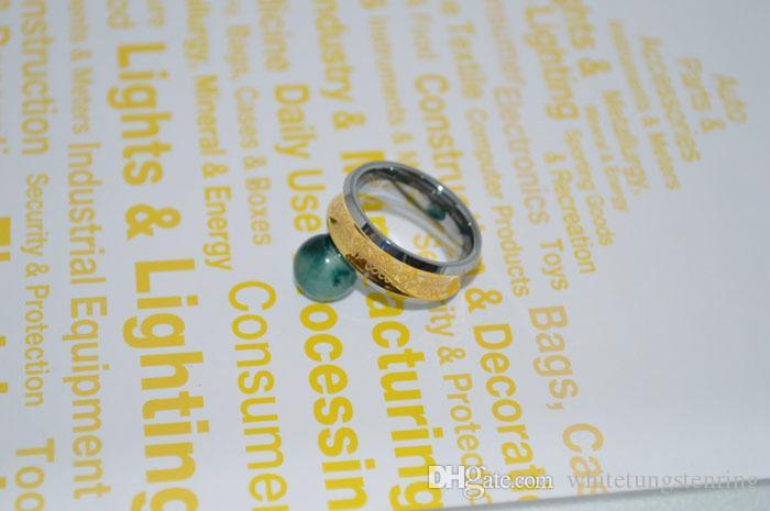 Celtic Laser Tungsten Ring Menwomen Bröllop Bands Guldpläterade Ringar