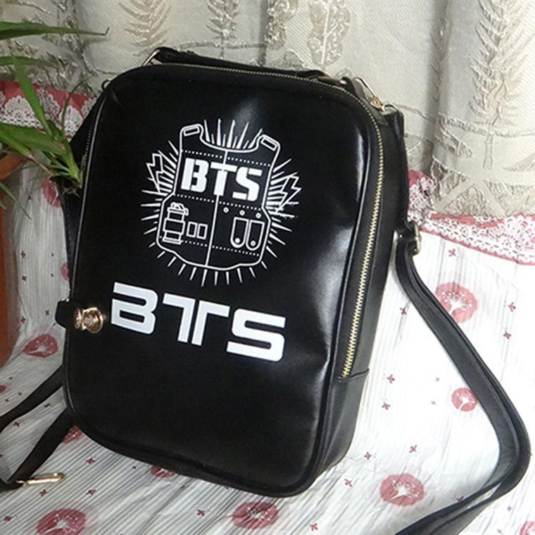 BTS Schoolbag Black Backpack Rap Monster SUGA JIMIN Korean Student Bag Man  Bags Jute Bags From Factory top
