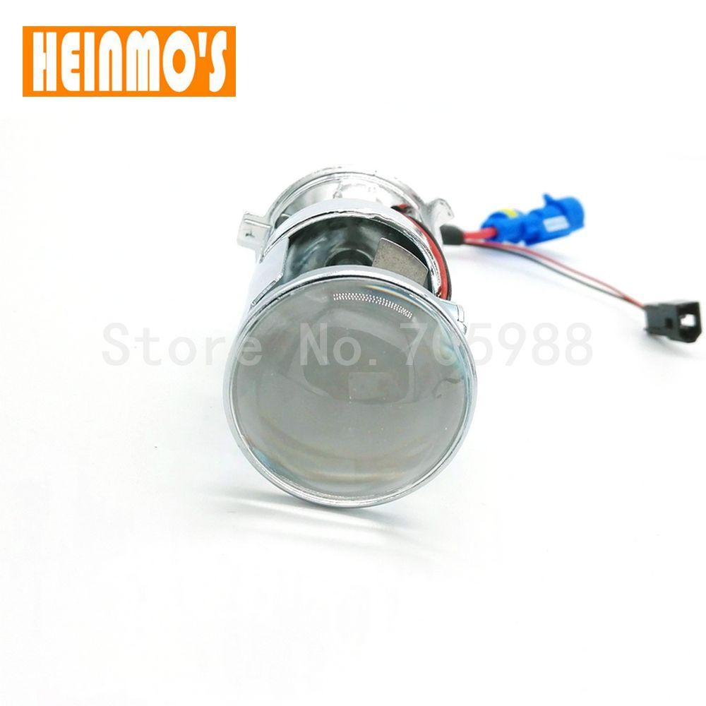 2*12V 35W H4 Bi xenon Lens Car light source H4 HID Bi xenon 9003 hid kit hi lo beam 6000K 8000K 4300K H4 headlight Projector lens