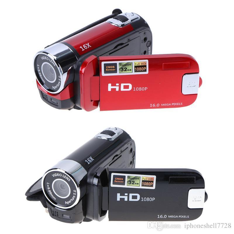 ALLOYSEED Cámara de video digital 22MP Full HD 1080P 32GB 16x Zoom Mini videocámara DV Camera WiFi 3.0