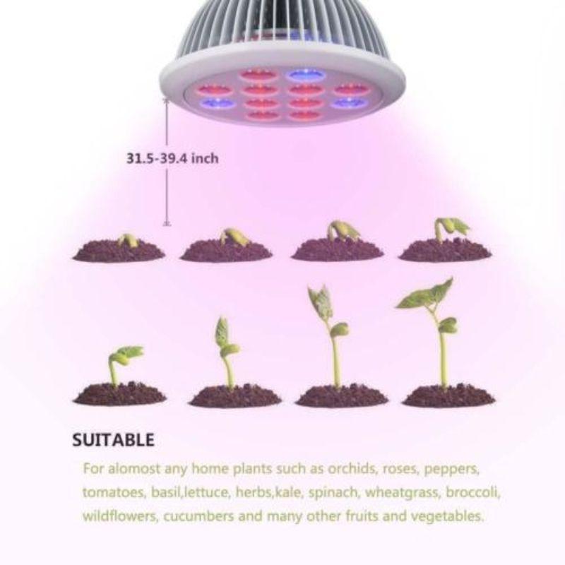 Led Par 12w Lamp Lamp Plant Growth Light Lights Best Led