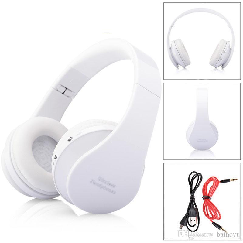 Cuffie con microfono stereo regolabile cuffie di musica stereo di moda con microfono telefoni cellulari MP3