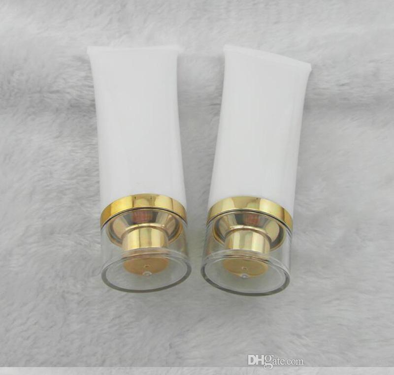50 г трубка косметический крем пластиковый лосьон мягкие трубки бутылки матовый образец контейнера пустой косметический макияж крем контейнер